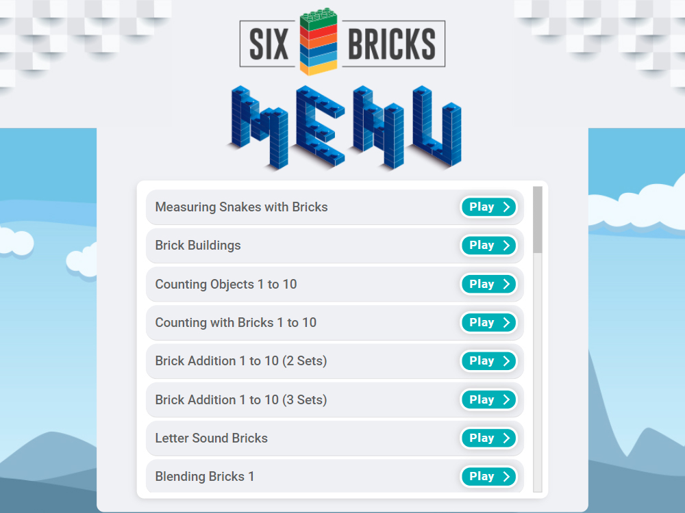 Six Bricks IWB Software
